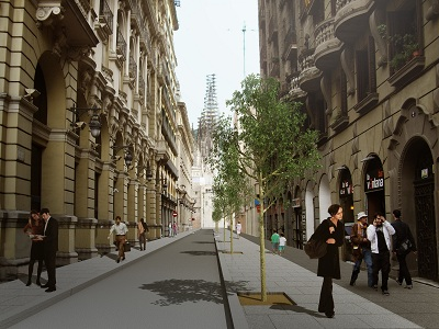 Urbanismo remodelaci n de la c doctor joaquim pou - House doctor barcelona ...